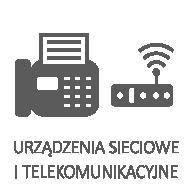 Urządzenia sieciowe i telekomunikacyjne