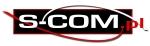 S-COM logo